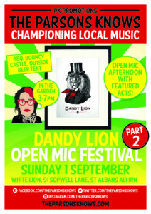 Dandylion Festival Part 2 @ The White Lion | England | United Kingdom